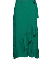 karolyna knälång kjol grön stig p