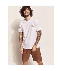 """camiseta masculina birden tal pai tal filho carro tropical paradise"""" manga curta gola careca off white"""""""