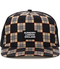 burberry checkerboard baseball hat