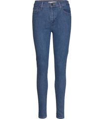 720 hirise super skinny eclips skinny jeans blå levi´s women