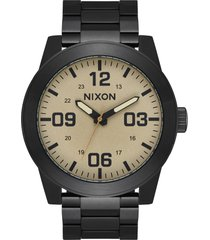 men's nixon the corporal bracelet watch, 48mm