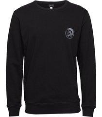 umlt-willy sweat-shirt sweat-shirt tröja svart diesel men