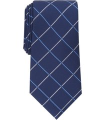 club room men's baker windowpane tie, created for macy's