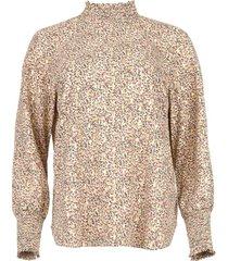 blouse met print enrique  multi