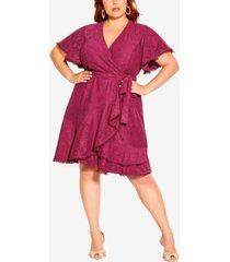 city chic trendy plus size sweet luv dress