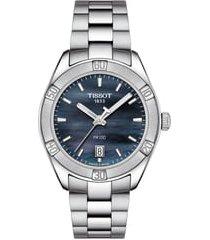 women's tissot pr 100 sport chic bracelet watch, 36mm