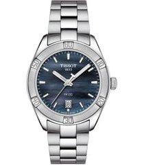 women's tissot pr 100 sport chic bracelet watch, 38mm