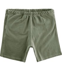 nigel cabourn embroidered arrow shorts | washed army | ncj-58