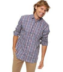 camisa azul scotfield san francisco dw modelo clásico