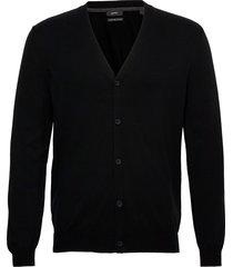 sweaters stickad tröja cardigan svart esprit collection
