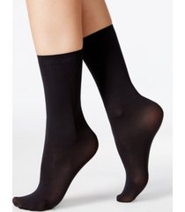 hue women's opaque anklet socks