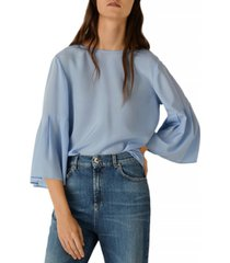 marella flared-sleeve top