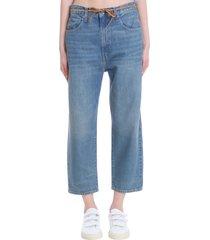 levis the barrel jeans in blue denim