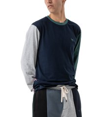 men's rodd & gunn wnwn colorblock long sleeve t-shirt, size xx-large r - none