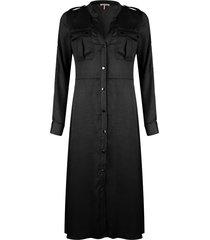 lange jurk met drukknopen sp20.31009
