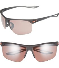 men's nike trainer e 67mm oversize sunglasses