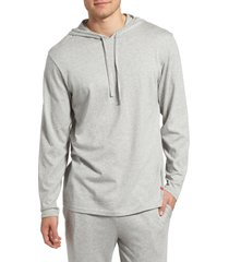 men's polo ralph lauren pullover hoodie, size large - grey