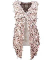 10 feet gilet knitwear