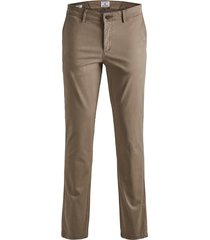 jack & jones plus size broek beige