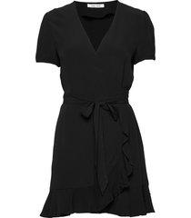 linetta dress 10056 korte jurk zwart samsøe samsøe