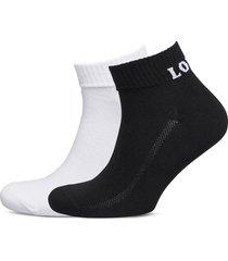 levis mid cut sprt sock unisex 2p ankelstrumpor korta strumpor vit levi´s