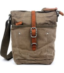 tsd brand forest canvas crossbody bag