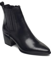cane shoes boots ankle boots ankle boot - heel svart dasia