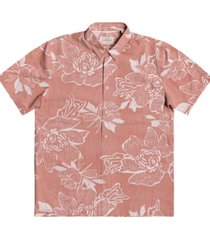 men's waterman hatch rose short sleeve shirt