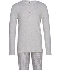 cr7 mens pyjamas pyjamas grå cr7