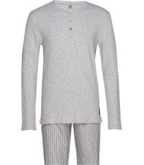 cr7 mens pyjamas pyjamas grå cr7