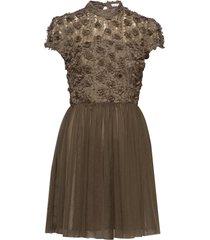 sandy dress korte jurk groen ida sjöstedt