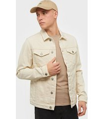 selected homme slhjeppe 6214 white st denim jacket jackor vit