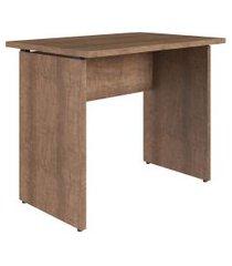 mesa para escritório artesano ative retangular 90cm vermont