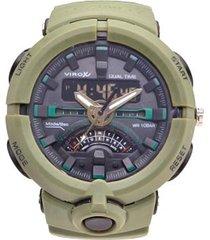 reloj virox hombre r018174-63 análogo digital militar