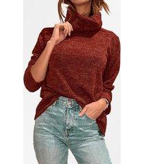 sweater lanilla liso burdeo mlk