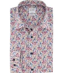 olymp overhemd bloemenprint comfort fit