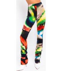 akira watercolor painting flare pants