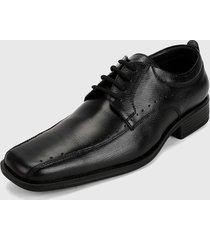 zapato formal negro san polos