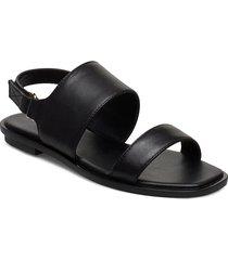sula shoes summer shoes flat sandals svart aldo