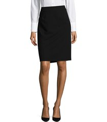 calvin klein women's pencil skirt - black - size 16