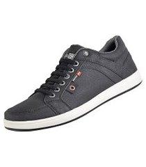 sapatenis cr shoes com elástico  lançamento preto