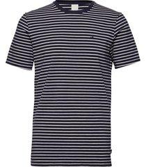 nos cotton elastane tee t-shirts short-sleeved blå scotch & soda