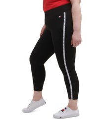 tommy hilfiger sport plus size active high rise leggings