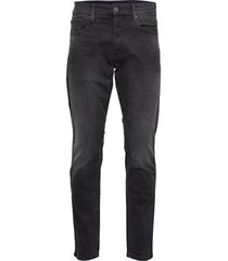 3301 tapered jeans zwart g-star raw