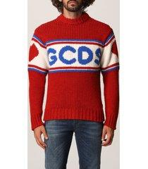 gcds sweater gcds ribbed sweater in alpaca wool blend