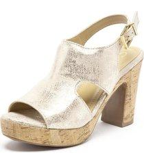 sandalia  dorado  gacel