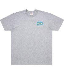 supreme chrome t-shirt - grey