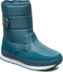 rd classic snowjogger solid shoes boots ankle boots ankle boot - flat blå rubber duck