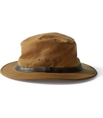men's filson tin packer hat -