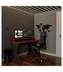 cadeira de escritório diretor giratória realiance ii com braços preta